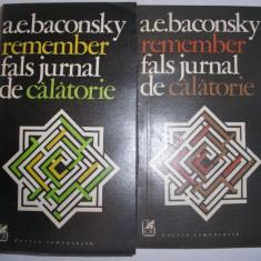 A.E Baconsky Remember 2 volume, g1 - Eseu