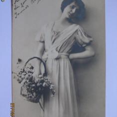 CARTE POSTALA CIRCULATA DIN 1916