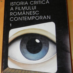 VALERIAN SAVA - ISTORIA CRITICA A FILMULUI ROMANESC CONTEMPORAN - Carte Cinematografie