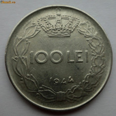 100 lei 1944 - 4 - - Moneda Romania