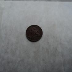 J. 2 centimes 1911 Belgia