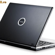 Laptop VR601 iefin - Laptop MSI, Intel Celeron M, 2 GB, 120 GB