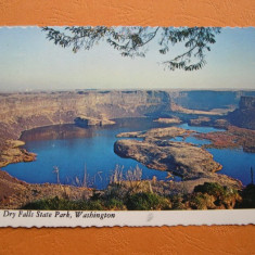 America - Parcul National Dry Falls, Washington, circulata 1983