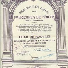 LETEA TITLU DE 10.000 LEI EMISIUNEA XVII