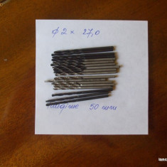 SPIRAL / SPIRALE / BURGHIU / BURGHIE DIAMETRUL 2 mm