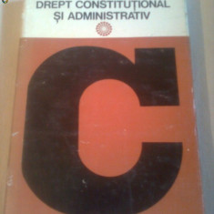 DICTIONAR DE DREPT CONSTITUTIONAL SI ADMINISTRATIV ~ IOAN BUSUIOC - Carte Drept constitutional