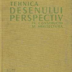 Adrian Gheorghiu - Tehnica desenului perspectiv in constructii si arhitectura - Carti Constructii