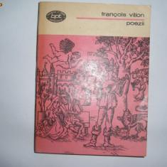 FRANCOIS VILLON - POEZII, t2 - Carte poezie