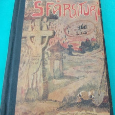 MIHAIL LUNGIANU - SFARSITURI - PRIMA EDITIE 1922(POVESTIRI SI ICOANE DIN VIATA TARANEASCA) - Carte veche