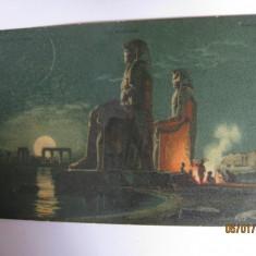 CARTE POSTALA DE COLECTIE LITOGRAFIATA DIN VALEA REGILOR ANUL 1906