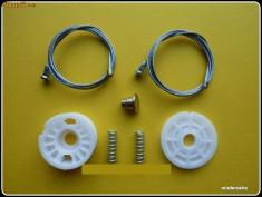 Kit reparatie macara geam actionat electric Mercedes A Class tip W168 (pt an fab.'97-'04)fata stanga