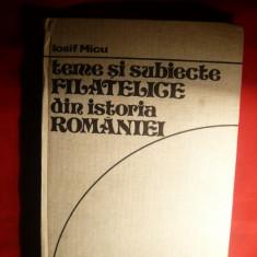 Iosif Micu - Teme Filatelice din Istoria Romaniei -1980