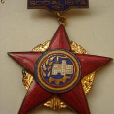Medalie - FRUNTAS IN INTRECEREA SOCIALISTA - 1963 - Medalii Romania