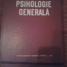 CARTE PSIHOLOGIE GENERALA