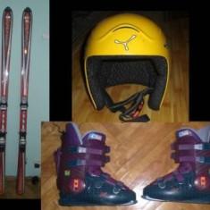 Skiuri carve Rossignol Cut 2.2, Clapari casca Cebe bonus - Set ski