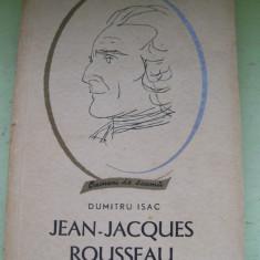 JEAN-JACQUES ROUSSEAU- DUMITRU ISAC