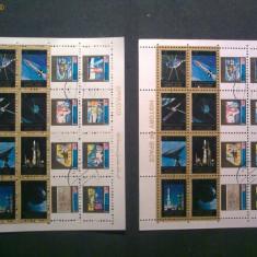 Timbru / Timbre / Colita / Serie Ajman Cosmos