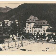 362 - SINAIA - Terenuri de tenis de camp - old postcard, intreg postal - unused