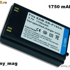 Baterie / Acumulator Compatibil Samsung SBP180A SB-P180A Li-Ion 1750 mAh Compatibil cu Samsung VM-M / VP-M / VP-X / SC-M / SC-D (NOU) - Baterie Camera Video