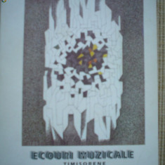 Ecouri muzicale timisorene ovidiu giulvezan banat timisoara carte arta muzica - Carte Arta muzicala