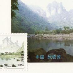 COLITA TIMBRE CHINA 1994