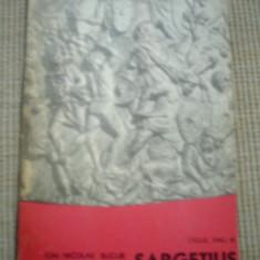 SARGETIUS ION NICOLAE BUCUR CICLUL DAC VOL 3 carte istorie daci