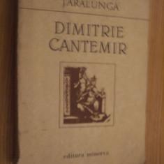 DIMITRIE CANTEMIR  -  Ecaterina Taralunga   [ autograf]