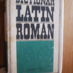 DICTIONAR LATIN - ROMAN - - Gh. Gutu