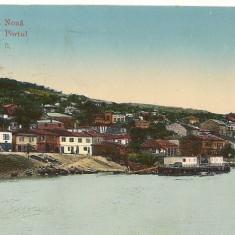 Romania Noua ( Cadrilater ) - Turtucaia - Portul - circulata 1914