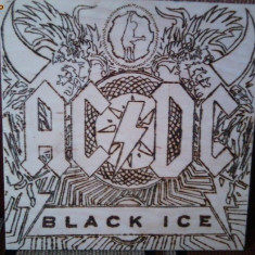 AC/DC Black ice (Tablou pirogravat )