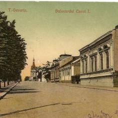 T. Severin - Bulevardul Carol I - circulata, 1909