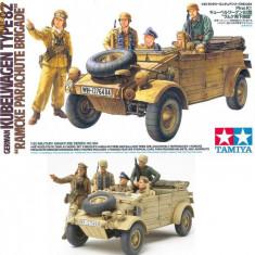 + Macheta 1/35 Tamiya 35304 - German Kubelwagen - Ramcke Parachute Brigade + - Macheta auto