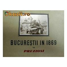Bucurestii in 1869 de Preziosi - Istorie