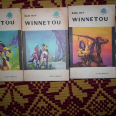Winnetou(3 vol)-Karl May - Roman