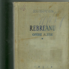 OPERE ALESE - Rebreanu * - Nuvela