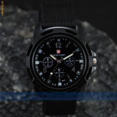 Ceas negru Military Army Pilot foto