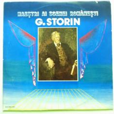 Discuri vinyl pick-up Electrecord G. STORIN Maestri Ai Scenei Romanesti