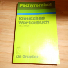 Pschyrembel -1994-DICTIONAR MEDICAL --KLINISCHES WORTERBUCH-2339 ILUSTRATII SI 268 TABELE.