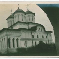 2447 - Arges, PITESTI, Church - old postcard, real FOTO - unused - Carte Postala Muntenia 1904-1918, Necirculata, Fotografie