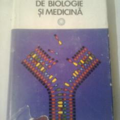 MICA ENCICLOPEDIE DE BIOLOGIE SI MEDICINA  ~ VICTOR SAHLEANU