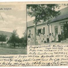 1529 - Timis, BASSENYO, Dudestii Noi, multi vue - old postcard - used - 1908 - Carte Postala Banat 1904-1918, Circulata, Printata