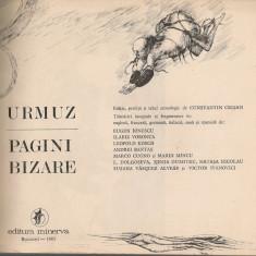 Urmuz - Pagini bizare ( editie omagiala, ilustrata) - Nuvela