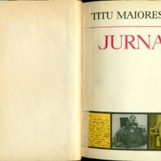 Jurnal si Epistolar - Vol. III (18 iulie 1860 - 10 iulie 1862)- Titu Maiorescu - Carte Editie princeps