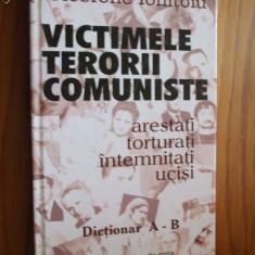 VICTIMELE TERORII COMUNISTE - Dictionar A - B -- Cicerone Ionitoiu - Istorie