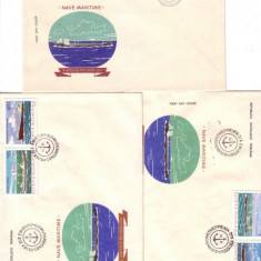 FDC- NAVE MARITIME 1979