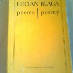 LUCIAN BLAGA  ~ POEME - POEMY (editie bilingva romano-slovaca)