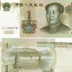 BACNOTA CHINA 1 YUAN 1999