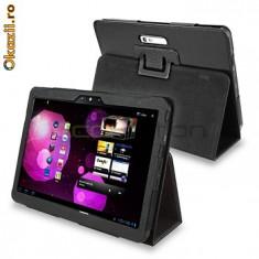 toc piele  Case Cover Samsung Galaxy Tab 10.1 P7100 husa