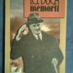 Memorii vol I Neutralitatea 1914-1915-I.G.Duca - Biografie