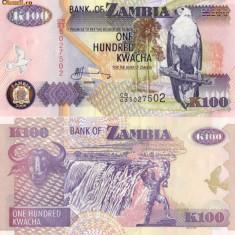 BACNOTA ZAMBIA  K 100   UNC
